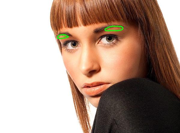 Photoshop Augen schminken, bilder bearbeiten, fotobearbeitung, bildbearbeitung, fotos bearbeiten, photoshop tutorials, portraitfotografie, grün
