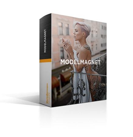 Modelmagnet, Bildberabeitung, videokurs, Umgang Model, modelle finden, videokurs